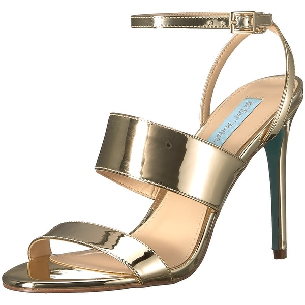 Betsey Johnson Womens Jenna Open Toe Special Occasion Ankle Strap Sandals
