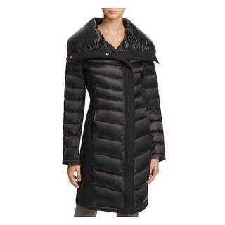T Tahari Sam Black Puffer Coat