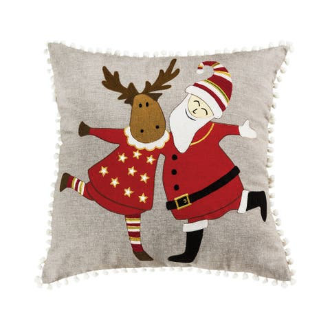 Celebration on Ice 20x20 Pillow - COVER ONLY