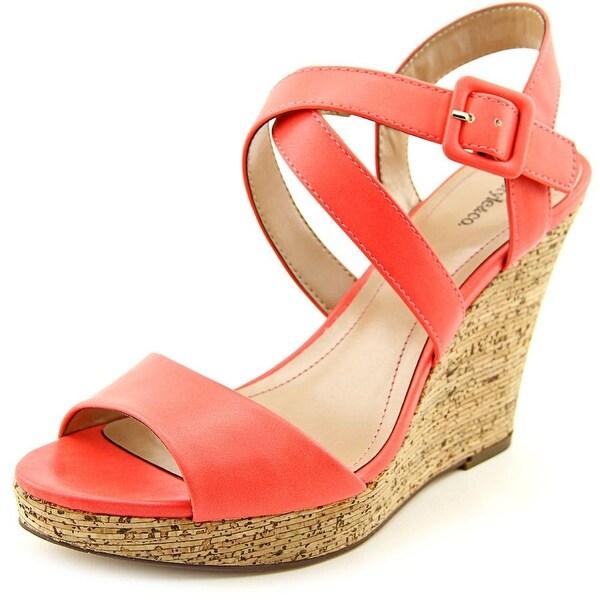Style & Co Allexus Women  Open Toe Synthetic Pink Wedge Heel