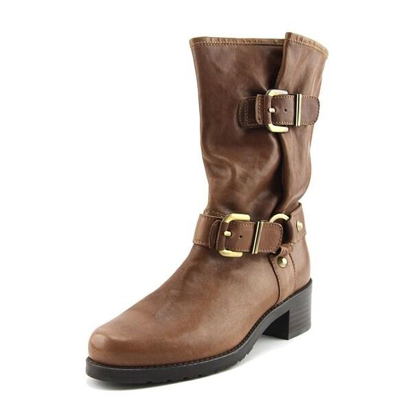 Stuart Weitzman Ranger Walnut Boots