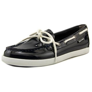 Cole Haan Nantucket Loafer Women Moc Toe Patent Leather Loafer