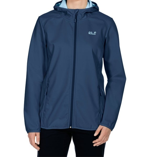 size 40 e1c46 d2809 Shop Jack Wolfskin NEW Blue Women's Size XL Windproof Full ...