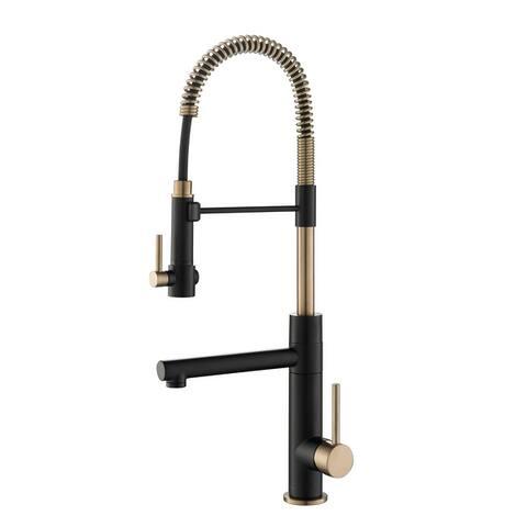 Kraus Artec 2-Function Commercial Pulldown Pot Filler Kitchen Faucet