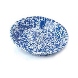 Crow Canyon D42DBM Pie Plate, Dark Blue Marble