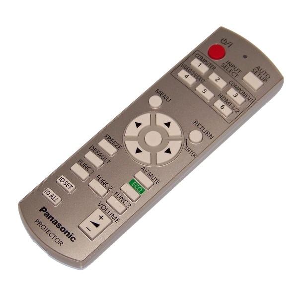 NEW OEM Panasonic Remote Control Originally Shipped With PTLZ370U, PT-LZ370U