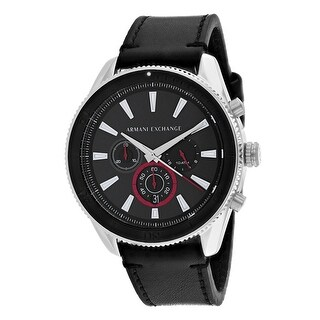 Armani Exchange Men's Classic AX1817 Black Dial Watch