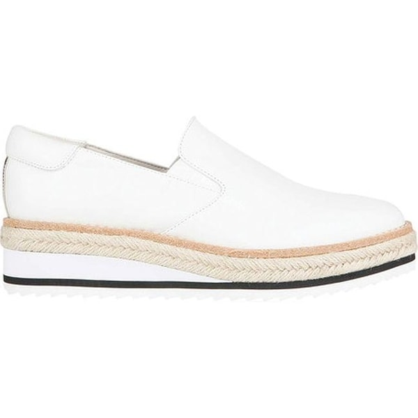 ae4c4c05aa9 Shop Kenneth Cole New York Women s Rainer Platform Loafer White Leather -  Free Shipping Today - Overstock - 19473711