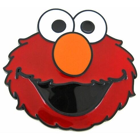 Sesame Street Elmo Red Enamel Belt Buckle Muppet