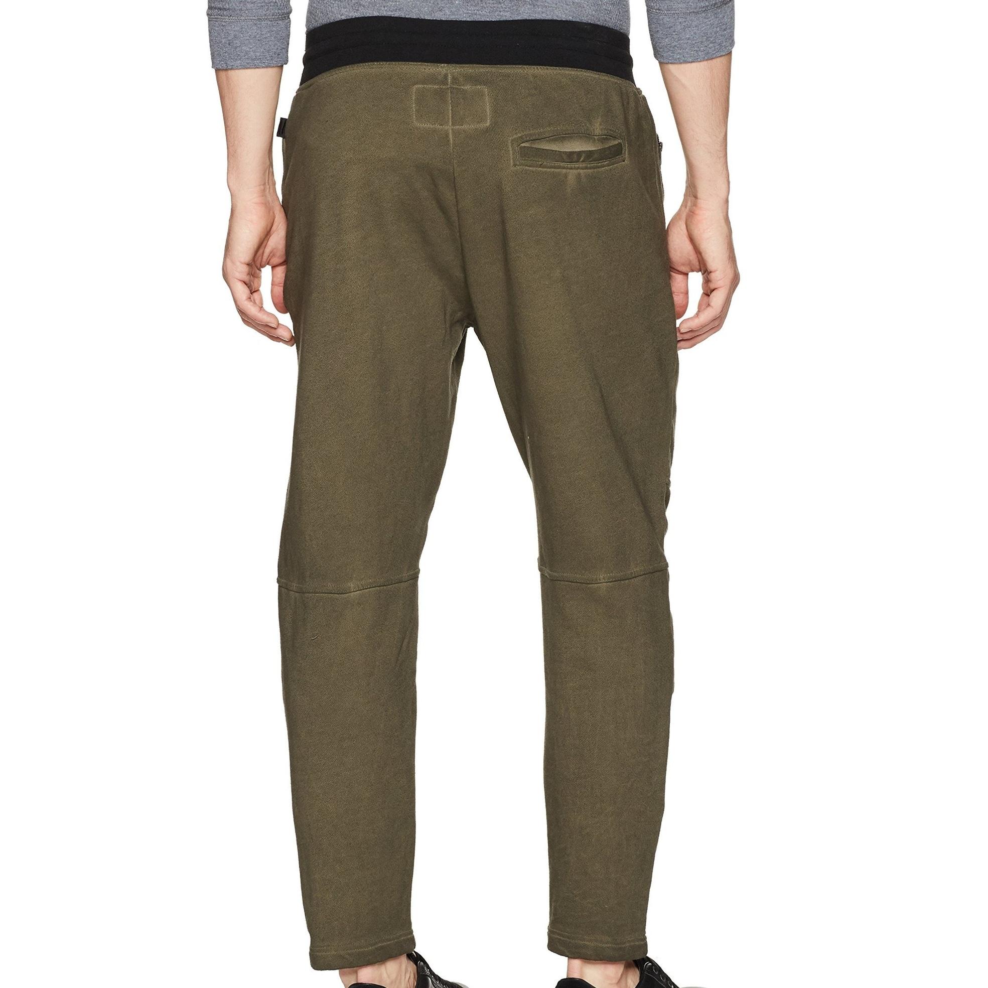 Eslove Fashion Men Baggy Pants 7XL Men Trousers Solid Color Elastic Casual Pants Extra BigRed Blue Black Gray
