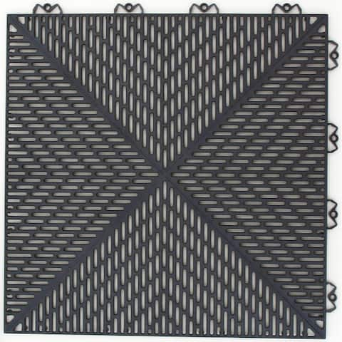 "Mats Inc. Bergo Unique Garage Tile, 14.9"" x 14.0"""