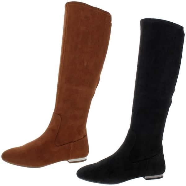 Jessica Simpson Womens Leonelle Silver Knee-High Boots 6 Medium B,M BHFO 8492