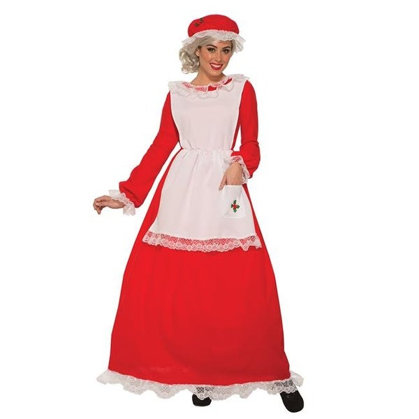 e028441f738b5 Shop Forum Novelties Christmas Traditional Mrs. Claus Adult Costume - Plus  - Free Shipping On Orders Over  45 - Overstock - 22935809