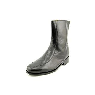 Nunn Bush Bristol Round Toe Leather Ankle Boot