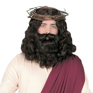 Jesus Wig & Beard for Halloween Costume