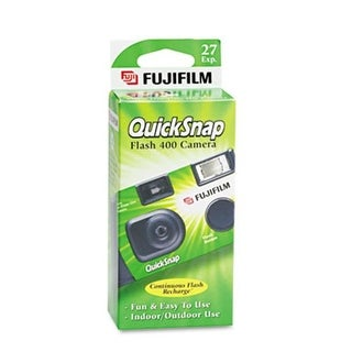 Fuji 7033661 35mm QuickSnap Single Use Camera- 400 ASA