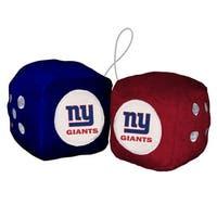"""""""FREMONT DIE Inc New York Giants Fuzzy Dice Fuzzy Dice"""""""