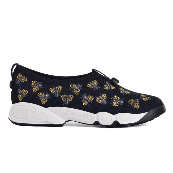 7e8d4d0c4 Shop Dior Women Dior Fusion Bee Embroidery Technical Sneakers - Free ...