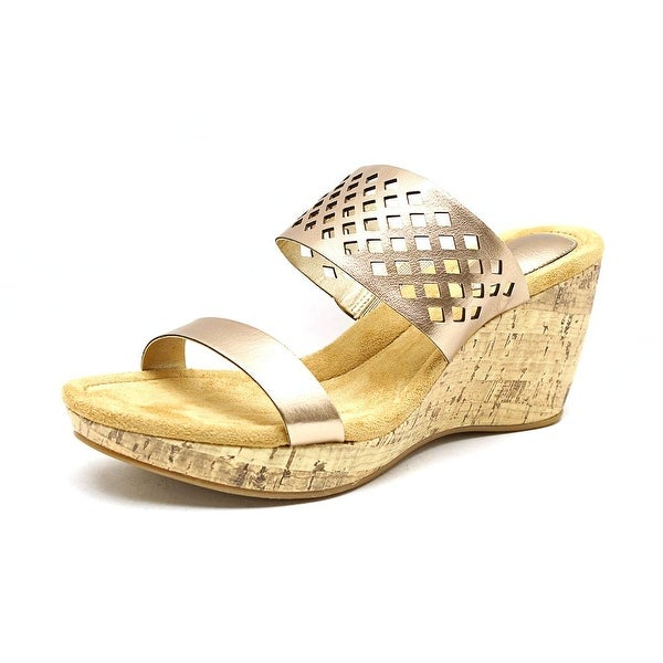 Giani Bernini Pasey Women Oro Sandals