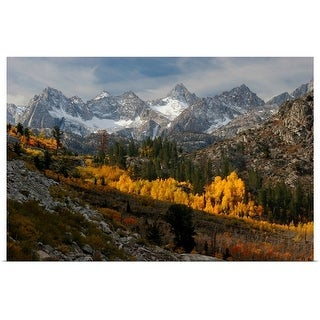 """Autumn in the Sierra Nevada"" Poster Print"