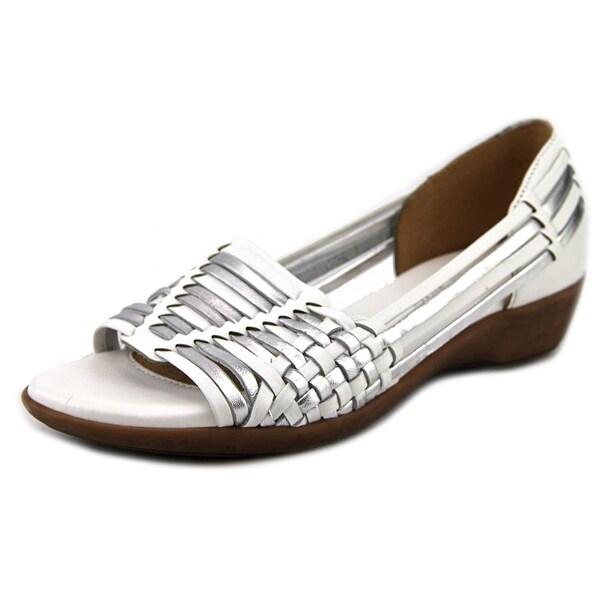 Naturalizer Nerissa Women Open Toe Leather Wedge Sandal