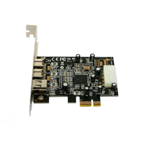 PCI-E Firewire 800 1394B Card TI Chipset with Cable