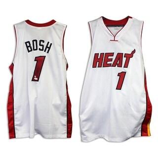 Chris Bosh Miami Heat Autographed White Jersey