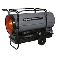 Dyna-Glo Delux KFA650DGD Delux Portable 650,000-BTU Multi-Fuel Forced Air Heater - grey - N/A