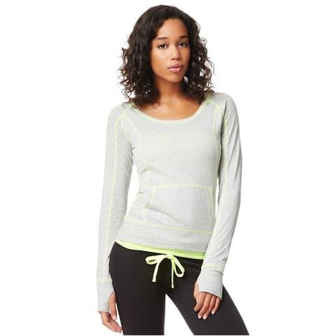 Aeropostale Womens Popover Hoodie Basic T-Shirt