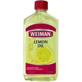 Weiman 18A Lemon Oil Furniture Polish, 16 Oz