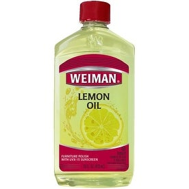 Weiman 18A Lemon Oil Furniture Polish, 16 Oz