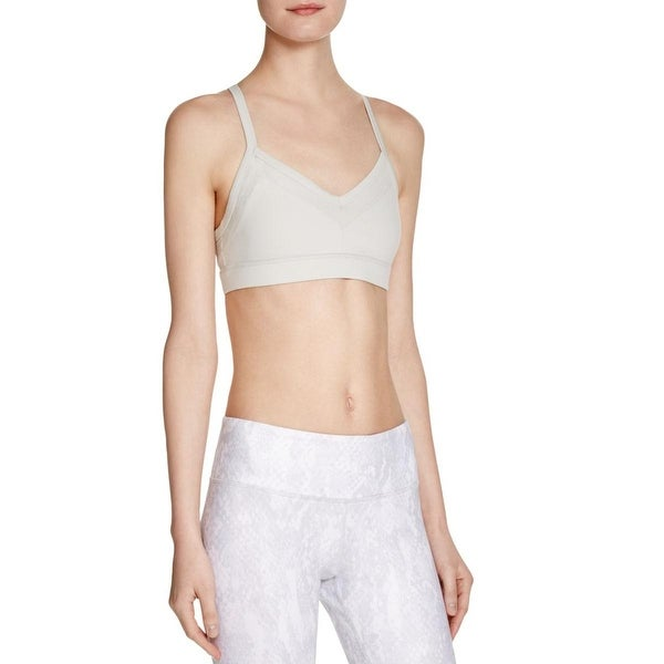 ff90df5403a84 Shop Alo Yoga Womens Becka Sports Bra Removable Padding Wireless - Free  Shipping On Orders Over  45 - Overstock - 15097823