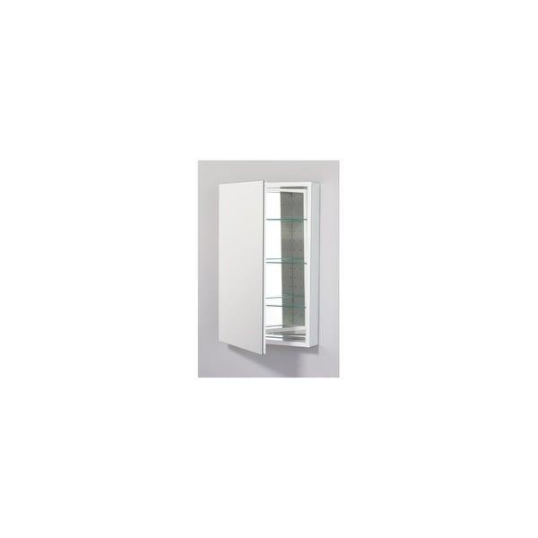"Robern PLM2030WLE PL 19"" Left Hinged Medicine Cabinet - White - N/A"