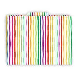 Functional File Folders Stripes