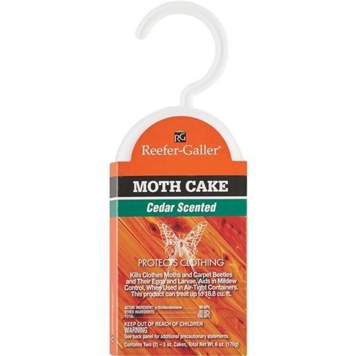 Willert Home Prod. Cedar Hanger Moth Cake 1214.6 Unit: EACH