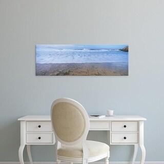 Easy Art Prints Panoramic Image 'Waves on beach, Playa Los Cerritos, Cerritos, Baja California Sur, Mexico' Canvas Art