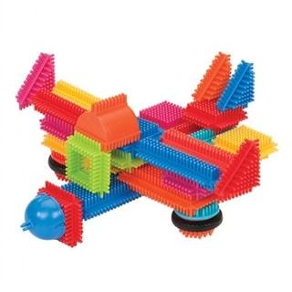 Bristle Blocks Deluxe Builder Case 113 Piece