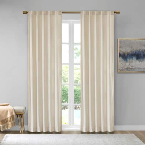 Garett Room Darkening Curtain Panel Pair by 510 Design