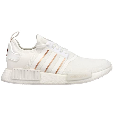 adidas Nmd_R1 Lace Up Womens Sneakers Shoes Casual - White