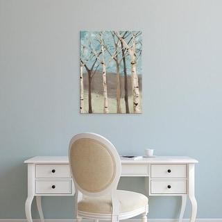 Easy Art Prints Jade Reynolds's 'Blue Birches I' Premium Canvas Art