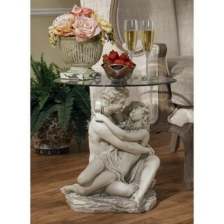 IN THE ARMS OF ROMANCE TABLE DESIGN TOSCANO sculptural furniture lovers