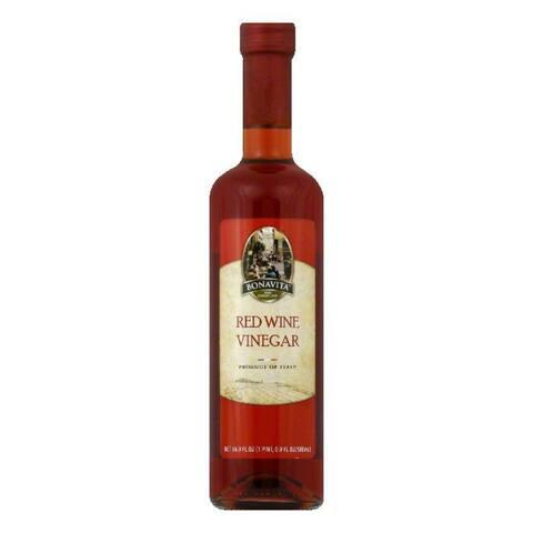 Bonavita Red Wine Vinegar, 16.9 FO (Pack of 6)