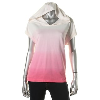 L-RL Lauren Active Womens French Terry Ombre Hoodie