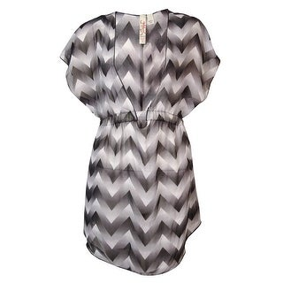 Miken Women's Gradient Chevron Smock Swim Cover