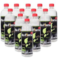 Bluworld Nu Flame Bio Ethanol Fuel 12 Pack