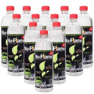 Bluworld Nu Flame Bio Ethanol Fuel 12 Pack