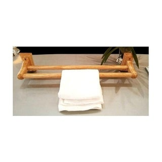 "ALFI brand AB5505 23-5/8"" wooden Wall Mounted Towel Bar - n/a"