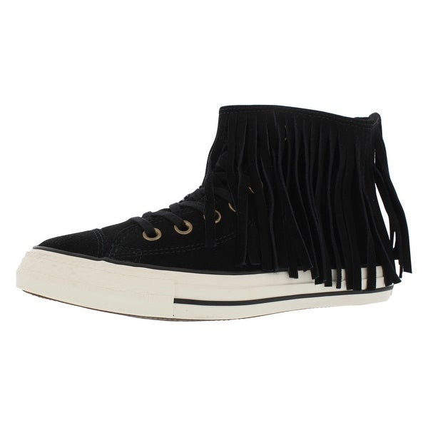 b3be3e7fdc59 Shop Converse Ct Fringe Suede + Shearling Athletic Women s Shoes ...