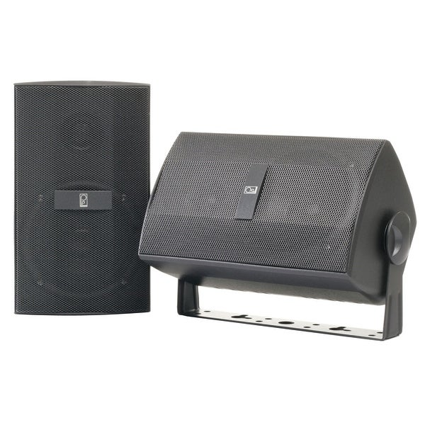 """Poly-Planar Component 3"""" Box Speakers - (Pair) Gray"""
