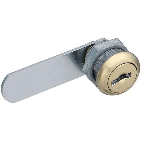 National Hardware N239-152 Door/Drawer Keyed Alike Utility Lock, Brass